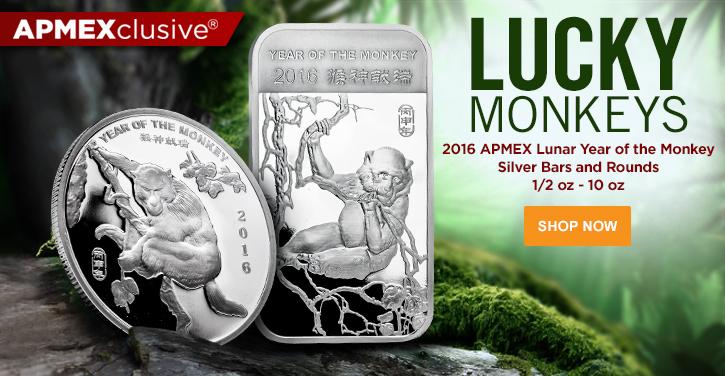 2016 APMEX Lunar Monkey