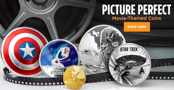 Movie Themed Coins