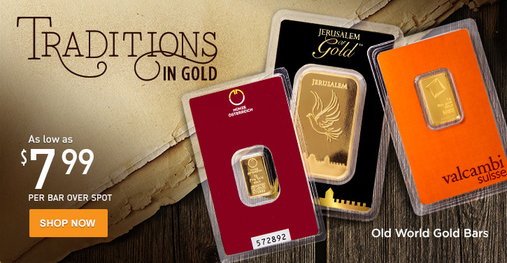 Old World Gold Bars