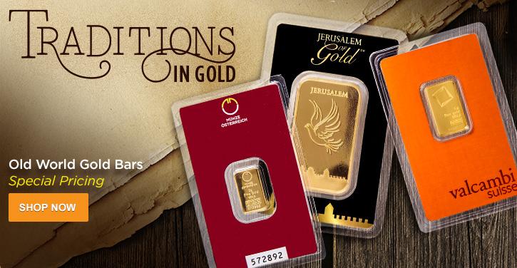 Old World Gold Bars