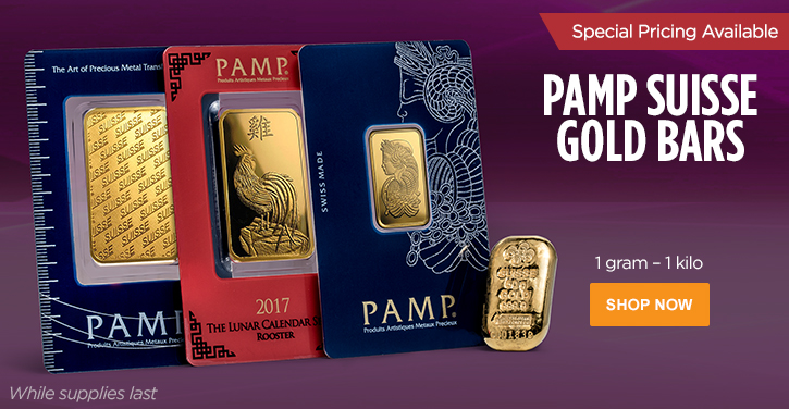 PAMP Suisse Gold Bars