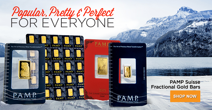 Fractional Gold PAMP Suisse
