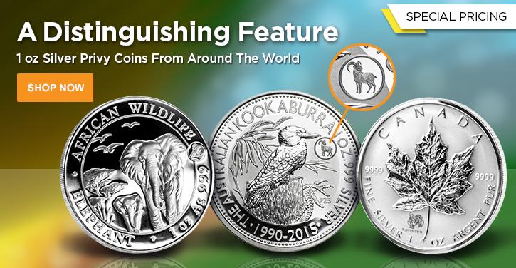 Silver Privy Mark Coins
