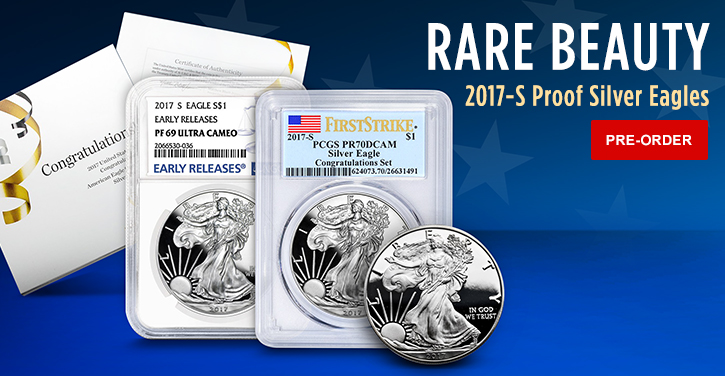 2017-S Proof Silver Eagles