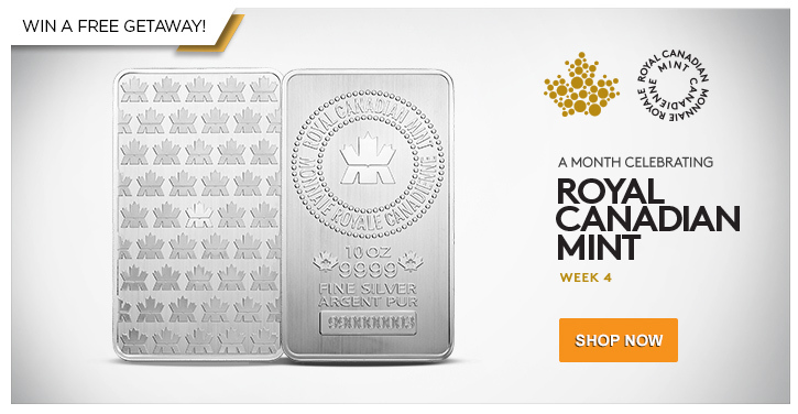 10 oz RCM Silver Bars