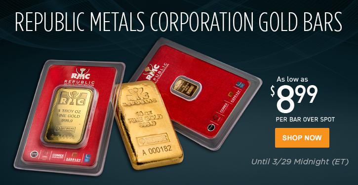 RMC Gold Bars