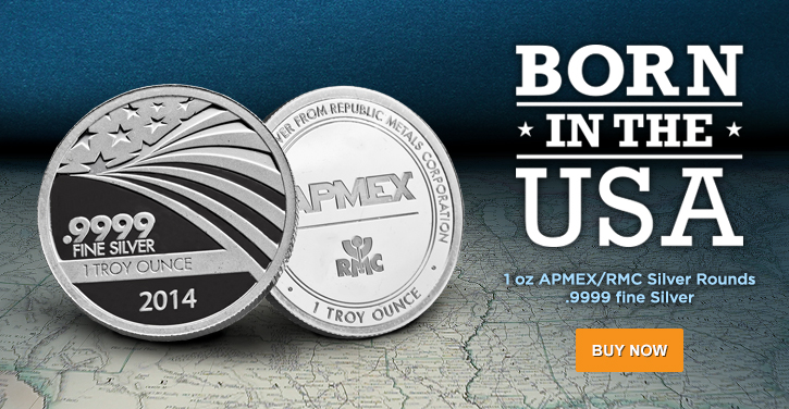 1 oz APMEX/RMC Co-Branded Silver Rounds