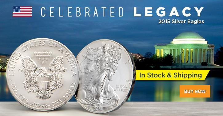 2015 Silver Eagles (In Stock)