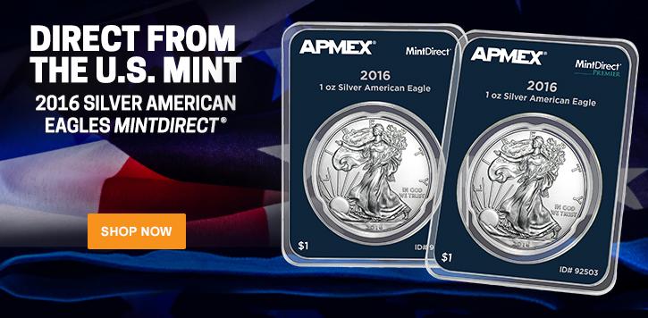 2016 Silver Eagle MintDirect