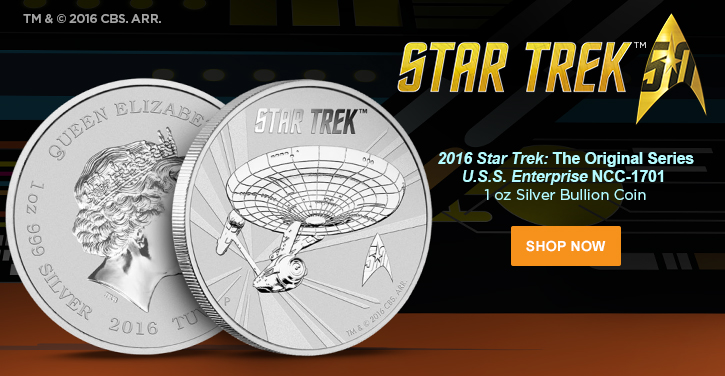 Perth Mint Star Trek Bullion Coin