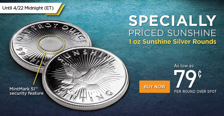 Sunshine Silver Rounds