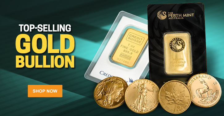 Top Selling Gold Bullion