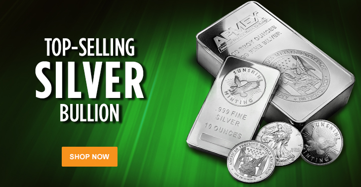 Top-Selling Silver Bullion