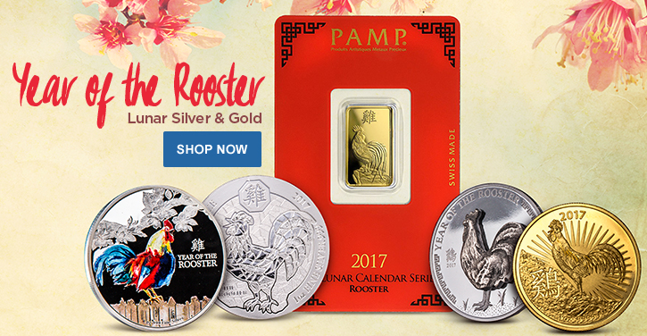 Year of the Rooster Gold and Silver Products
