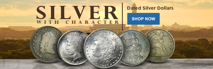 Dated Silver Dollars