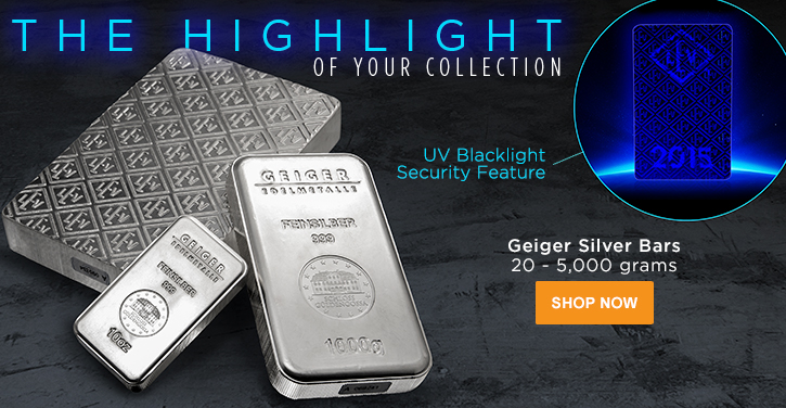 Geiger Silver Bars