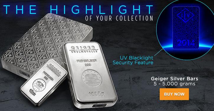 Geiger Silver Bars