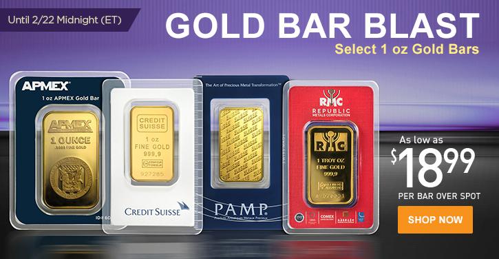 Gold Bar Blast