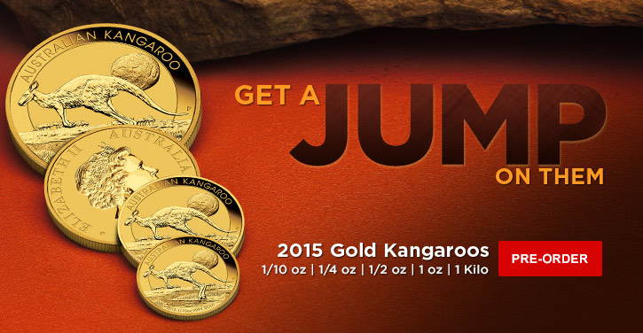 2015 Gold Kangaroos (All-sizes)
