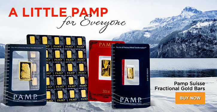 Pamp Suisse Fractional Gold Bars