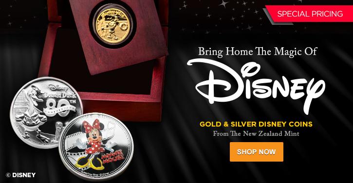 2014 Gold & Silver Disney