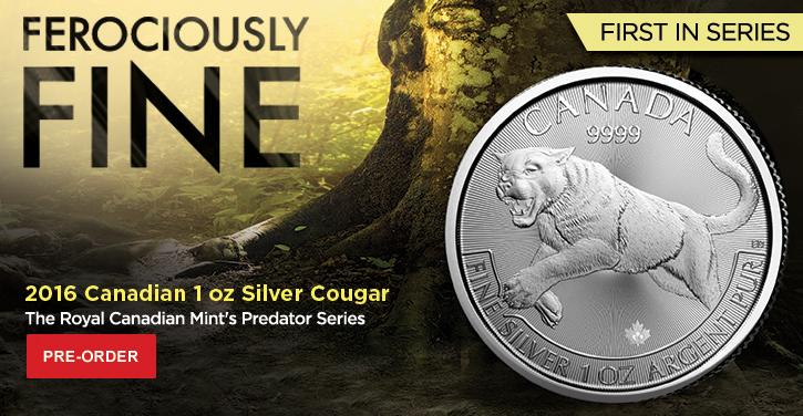 2016 Canada Silver Cougar