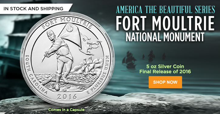 5 oz Silver ATB Fort Moultrie