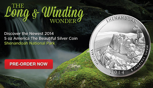 2014 5 oz Silver ATB Shenandoah National Park