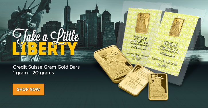 Credit Suisse Fractional Gold Bars