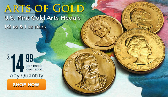 U.S. Mint Gold Commemorative Arts Medals