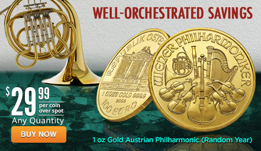 1 oz Gold Philharmonic - Random Year