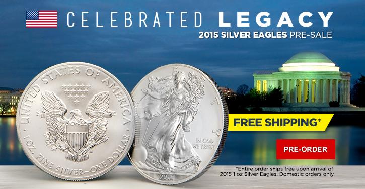 2015 Silver Eagles pre-sale