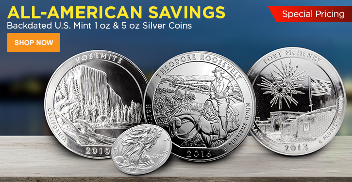 U.S. Mint Backdated Silver Coins