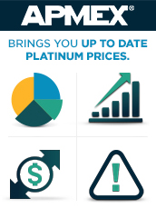 platinum spot price alert