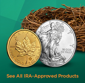 Approved Gold IRA and Silver IRA APMEX Products