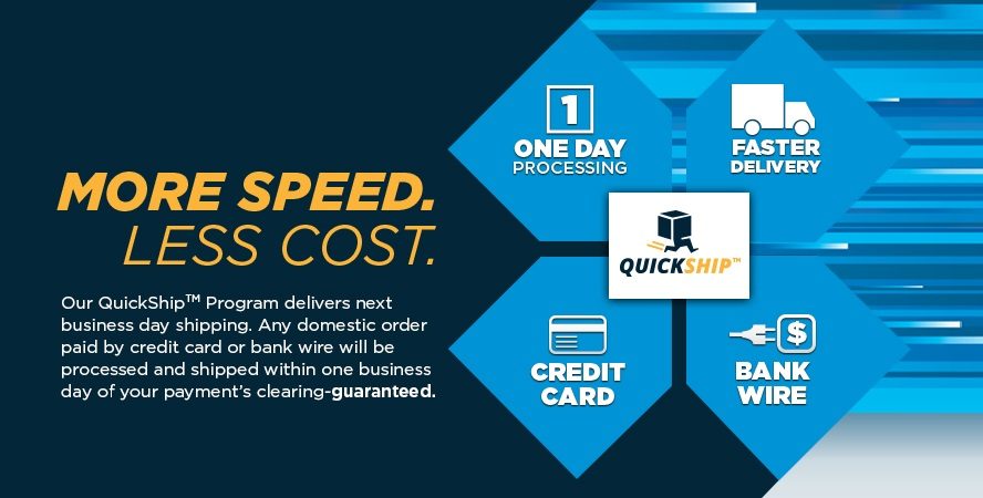 Next Business Day Shipping With QuickShip