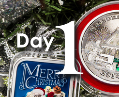 Day 1 of APMEX's 12 Days of Christmas!