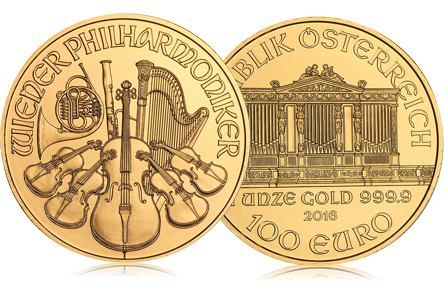 2016 Austria 1 oz Gold Philharmonic