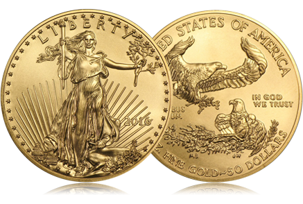2016 1 oz Gold American Eagle
