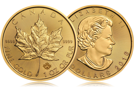 2016 Canada 1 oz Gold Maple Leaf