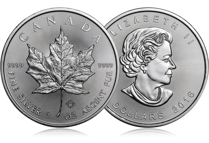 2016 Canada 1 oz Silver Maple Leaf