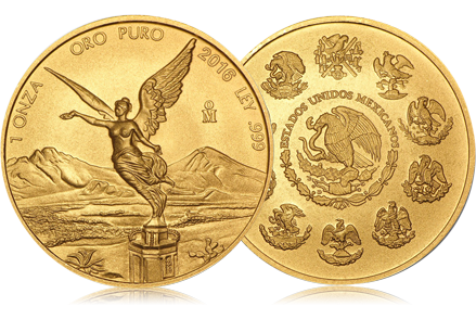 2016 Mexico 1 oz Gold Libertad