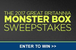 2017 Great Britannia Monster Box Sweepstakes