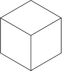 Drawing of a Cube