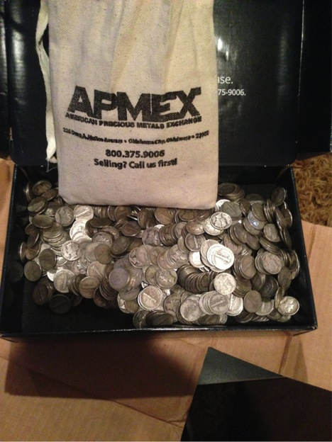 Silver Mercury Dime Bag Unboxing