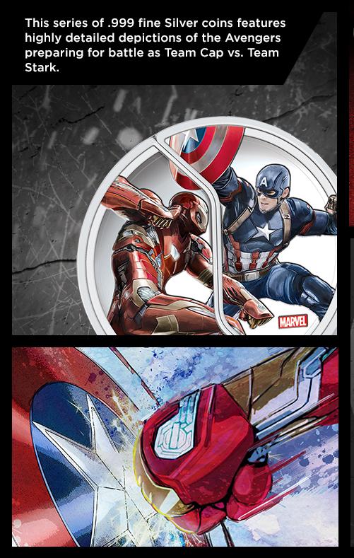 Buy Captain America Civil War Silver Coins Apmex