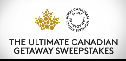 2015 The Ultimate Canadian Getaway Sweepstakes