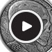 1 oz Silver Antique Round Hobo Nickel Replica (Skulls & Scrolls)