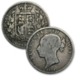 Silver Coins from Great Britain