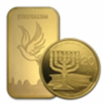 Holy Land Mint of Israel(Gold Coins Bars & Medals)